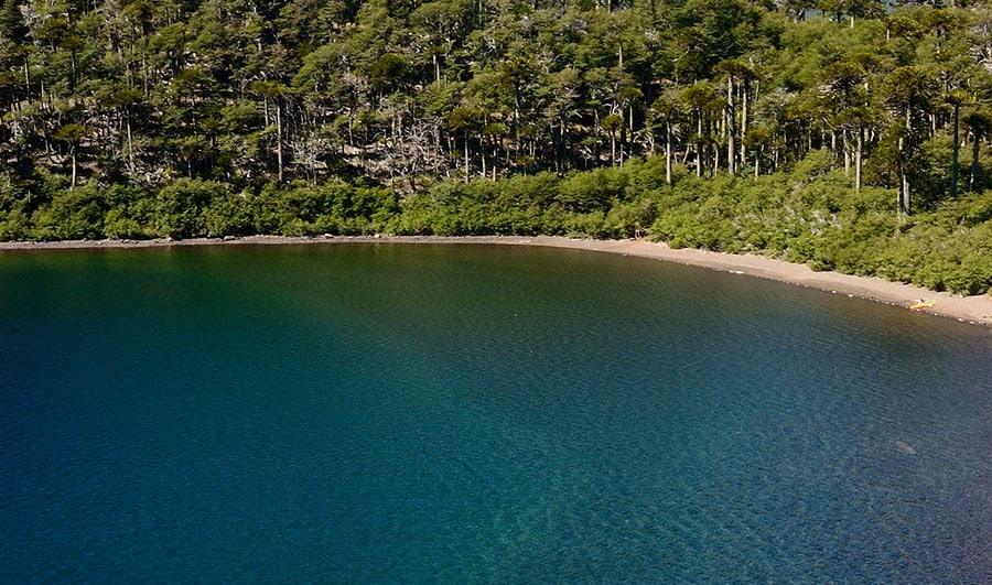 Laguna Mula en Alto Biobío