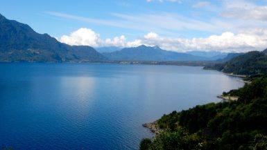 Imagen destacada del Lago Ranco