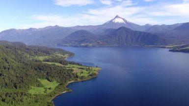 Imagen destacada del Lago Rupanco