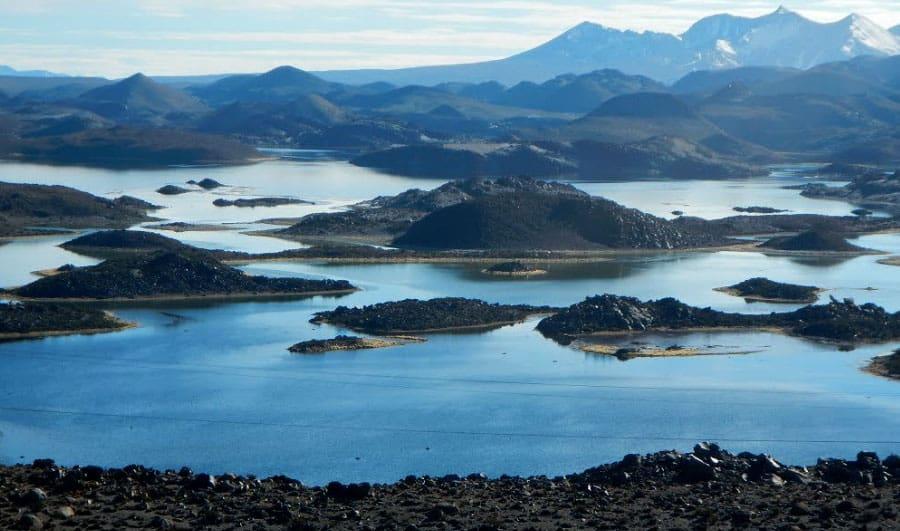 Clima en las lagunas de Cotacotani