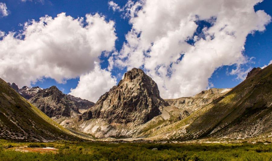 Vista general del Parque Nacional Radal Siete Tazas