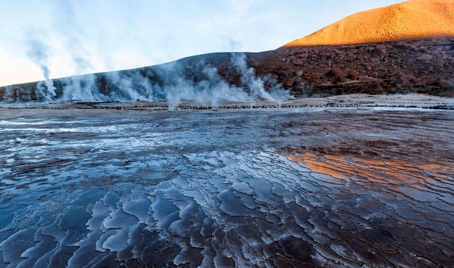 Geisers del Tatio en San Pedro de Atacama