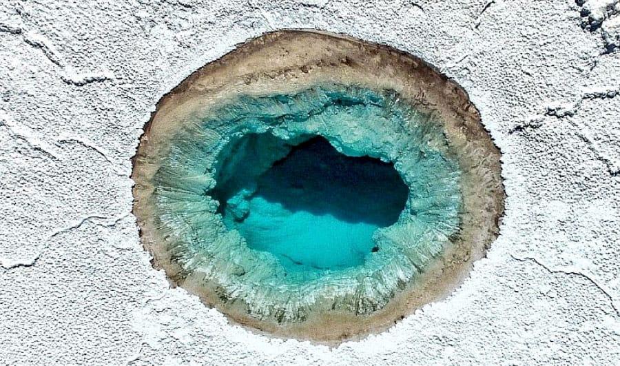 Lagunas escondidas de Baltinache en San Pedro de Atacama
