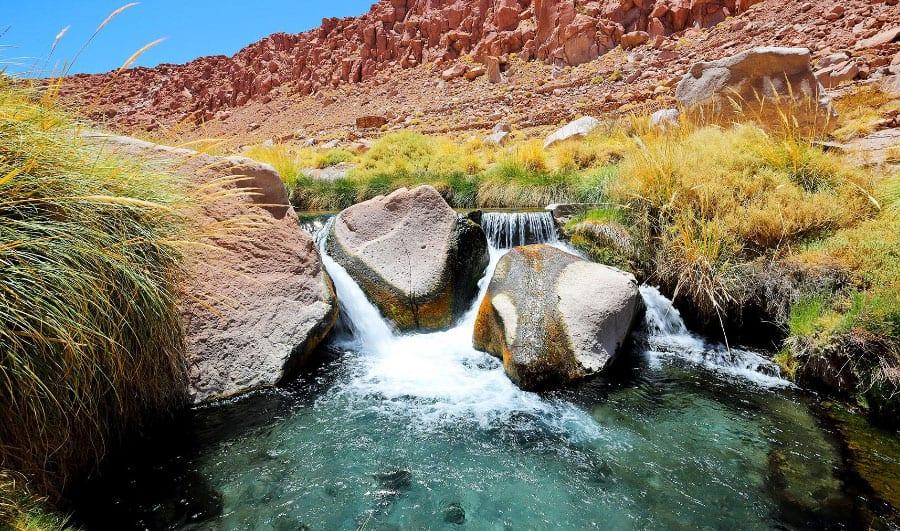 Termas de Puritama en San Pedro de Atacama