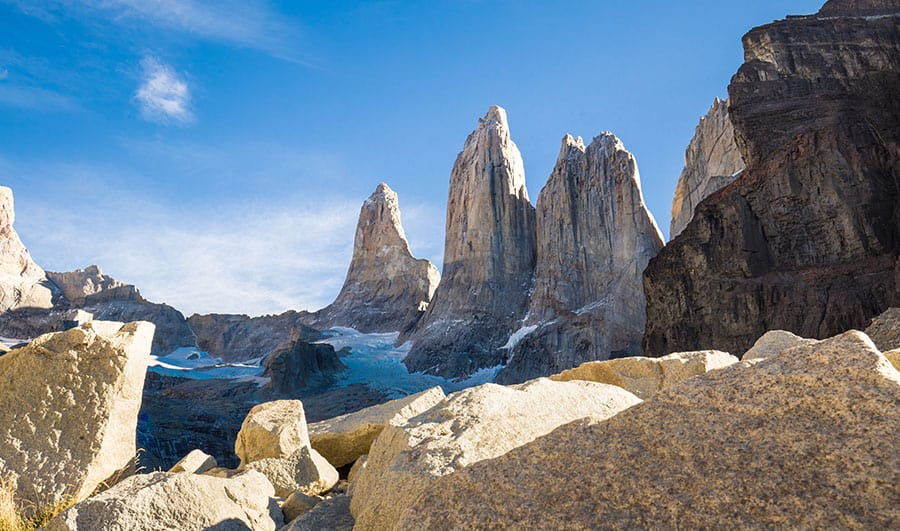 Ubicación del Parque Nacional Torres del Paine