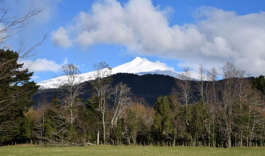 ¿Cómo es el volcán Mocho Choshuenco?