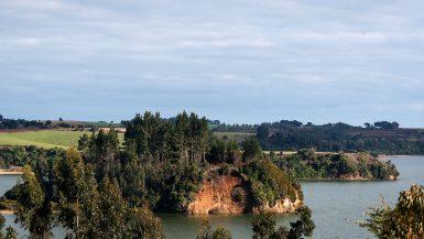 Imagen destacada del Lago Budi