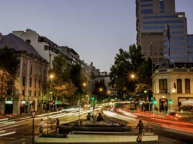 Barrio Lastarria y Bellas Artes
