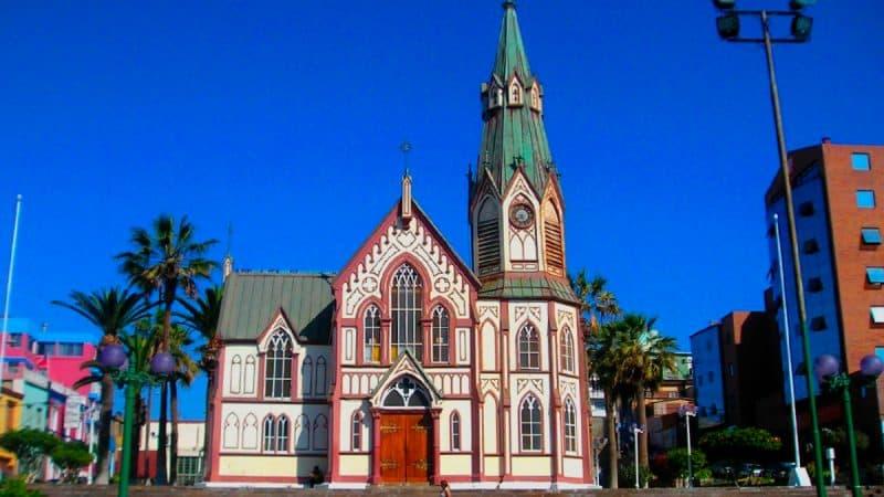 Imagen destacada de la Catedral San Marcos de Arica