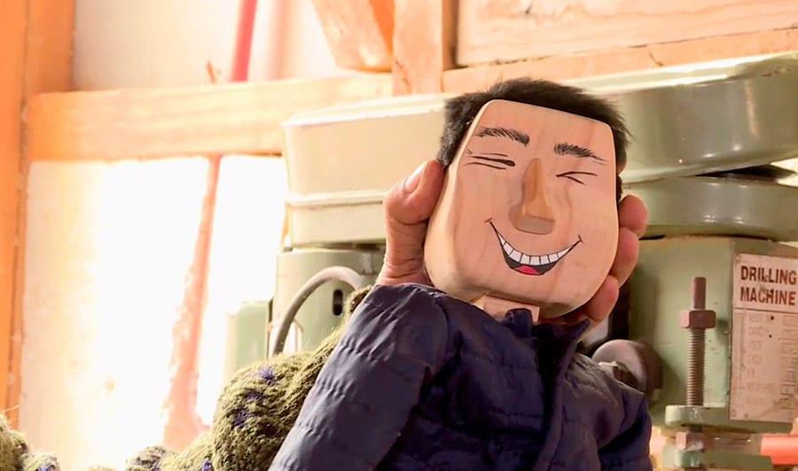 Marioneta de Pancho Saavedra