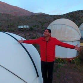 Pancho Saavedra y el astroturismo