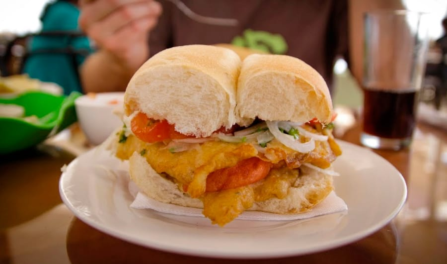 Picadas para disfrutar del Sandwich de pescado