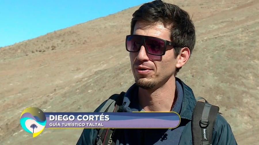 Diego Cortez, guía turístico de Taltal