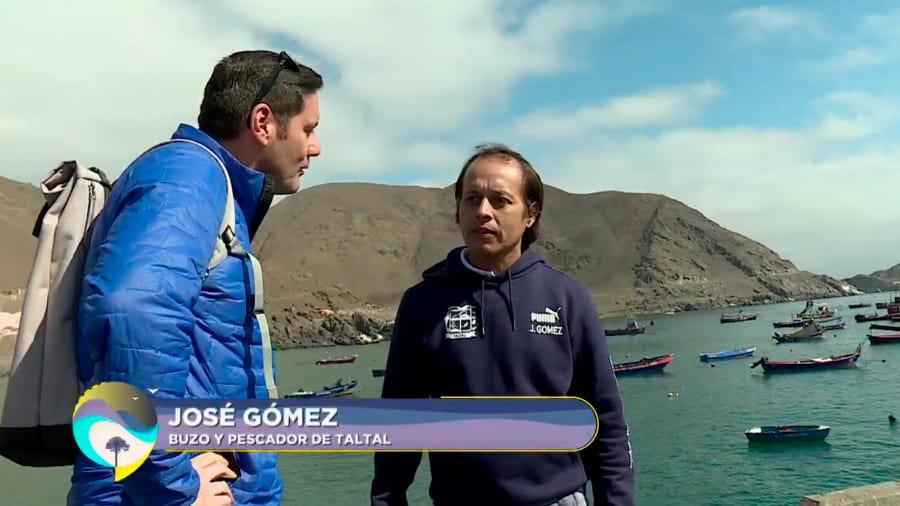 José Gómez, buzo y pescador de Taltal