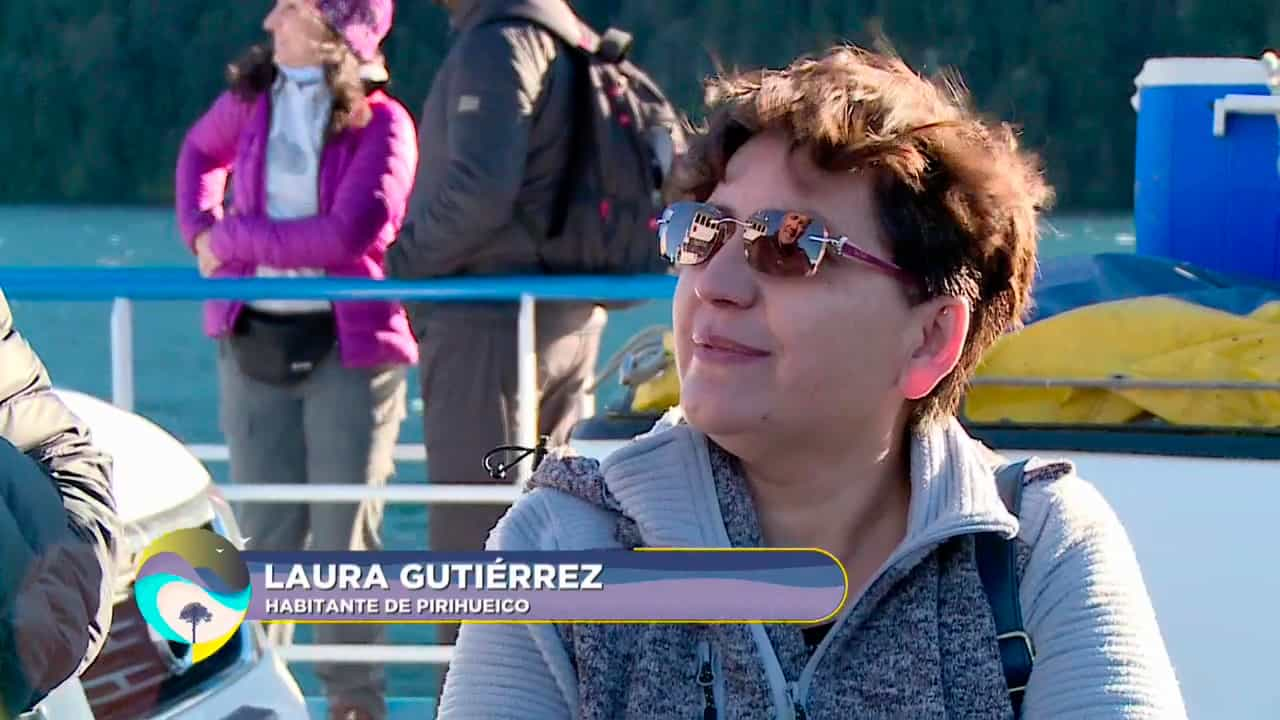 Laura Gutiérrez, vecina de Pirehueico