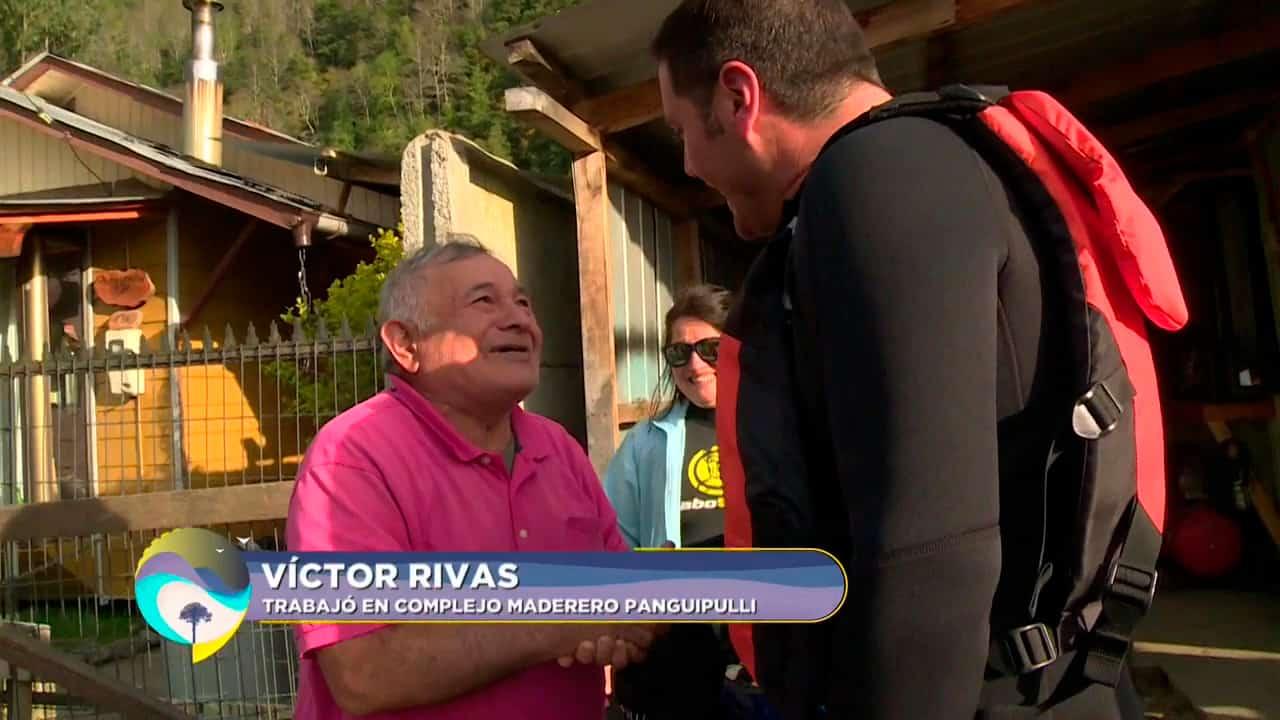 Víctor Rivas, trabajó en el complejo maderero de Panguipulli