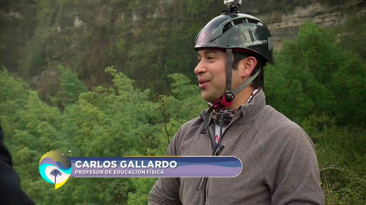 Carlos Gallardo, profesor de educación física