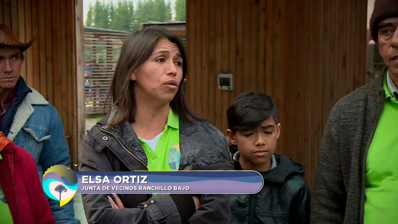 Elsa Ortiz, junta de vecinos Ranchillo Bajo