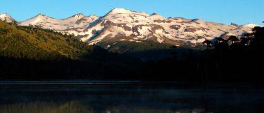 Imagen destacada de los volcanes de Chile