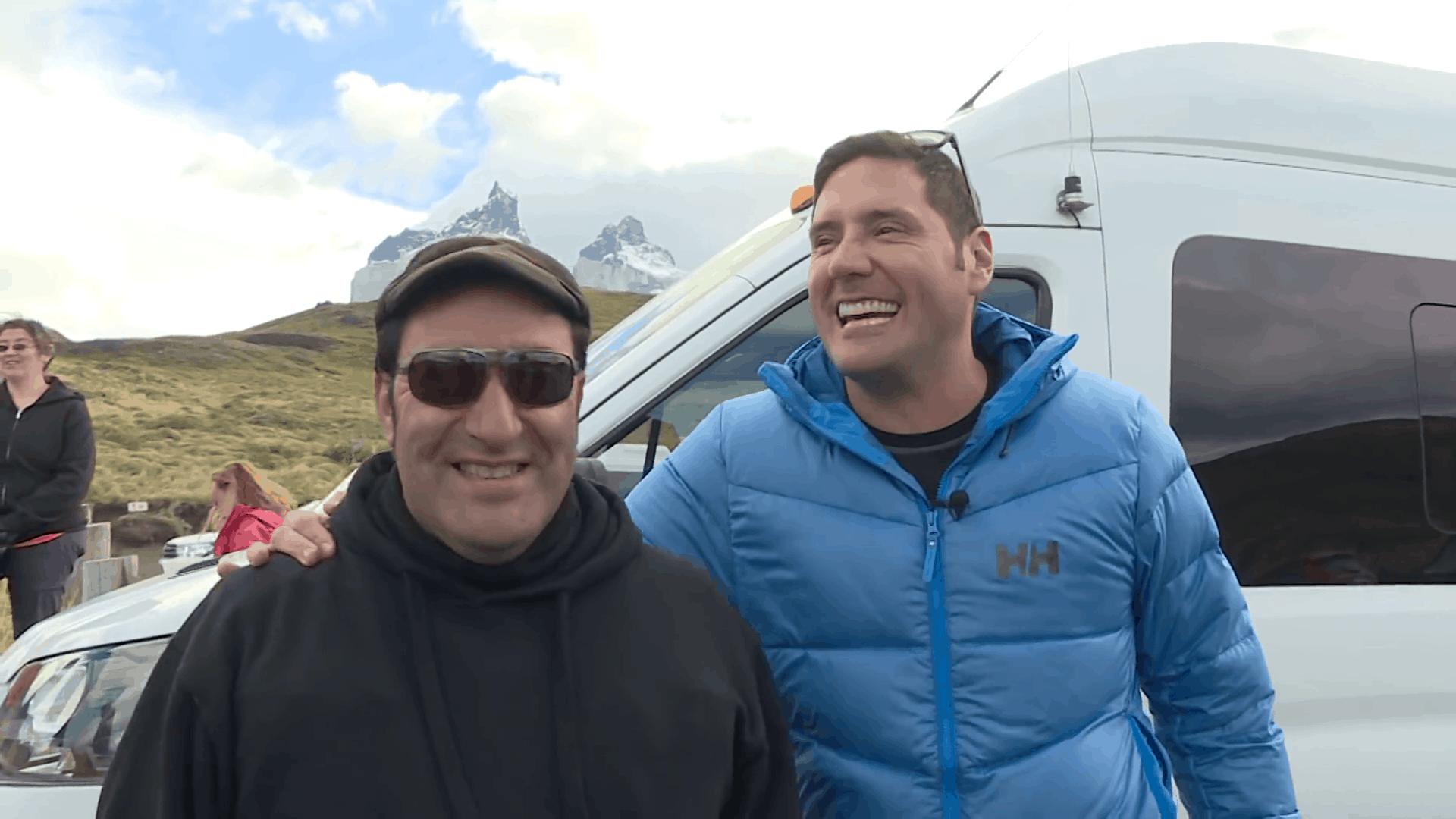 Javier Roger, guía de Torres del Paine
