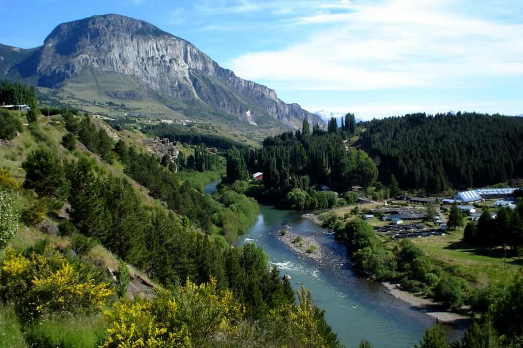Río Simpson, Coyhaique, región de Aysén
