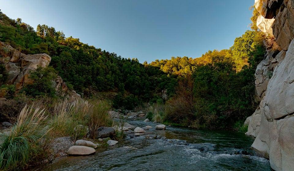 Atractivos del Parque Nacional Río Clarillo