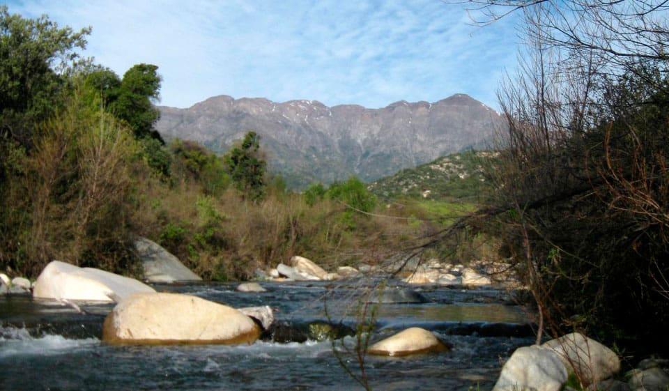 Clima del Parque Nacional Río Clarillo
