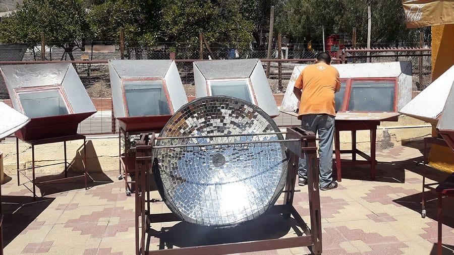 Cocina Solar de Villaseca
