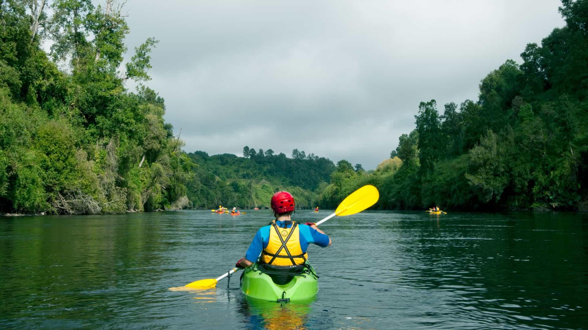 Los mejores lugares para hacer kayak en Chile