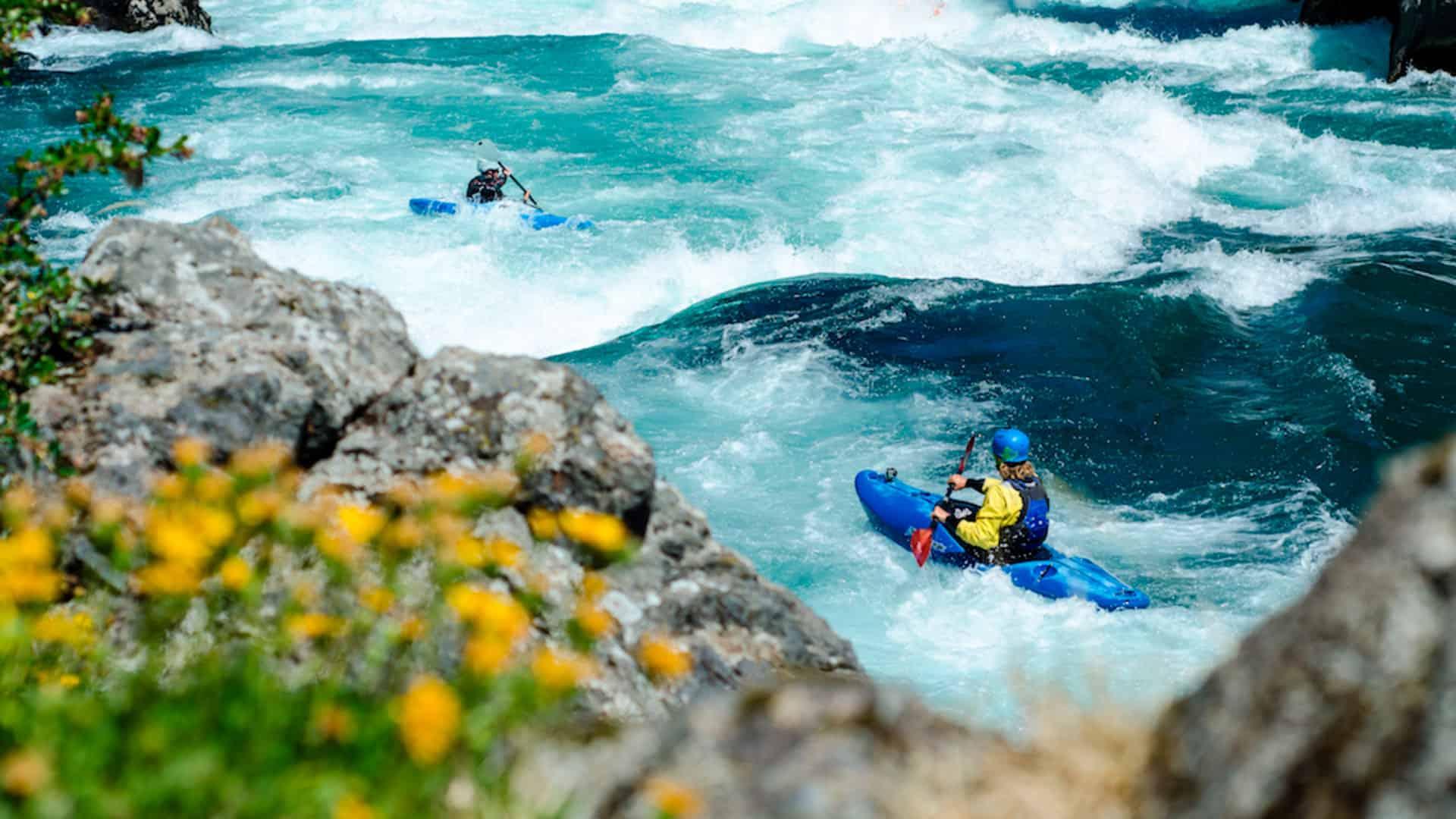Kayak en el Río Futaleufú