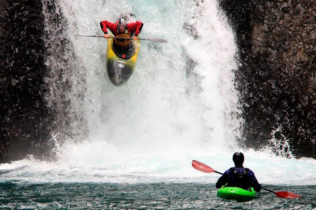 Kayak en el Río Maipo