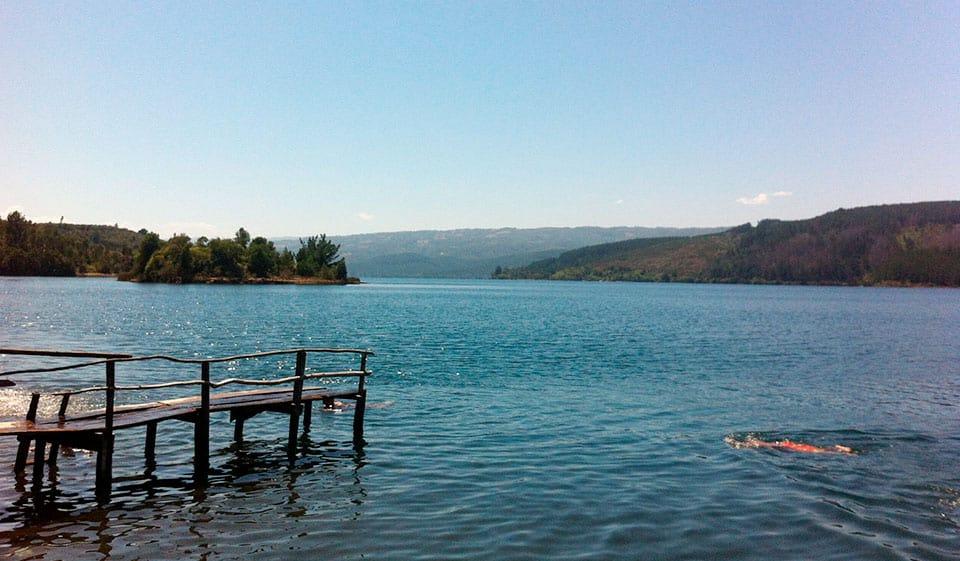 ¿Cómo es el lago Lleu Lleu?