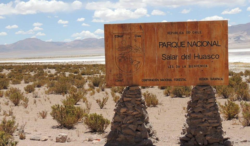 ¿Dónde está el Parque Nacional Salar de Huasco?