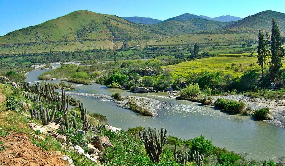 ¿Cómo llegar al Valle de Choapa?