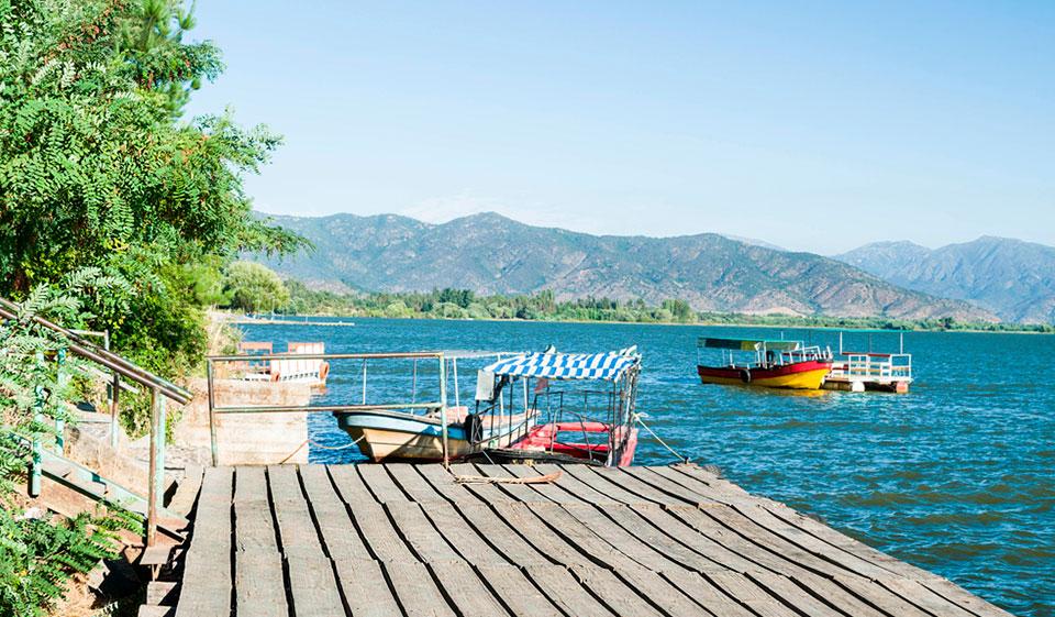 ¿Cómo es el Lago Rapel?