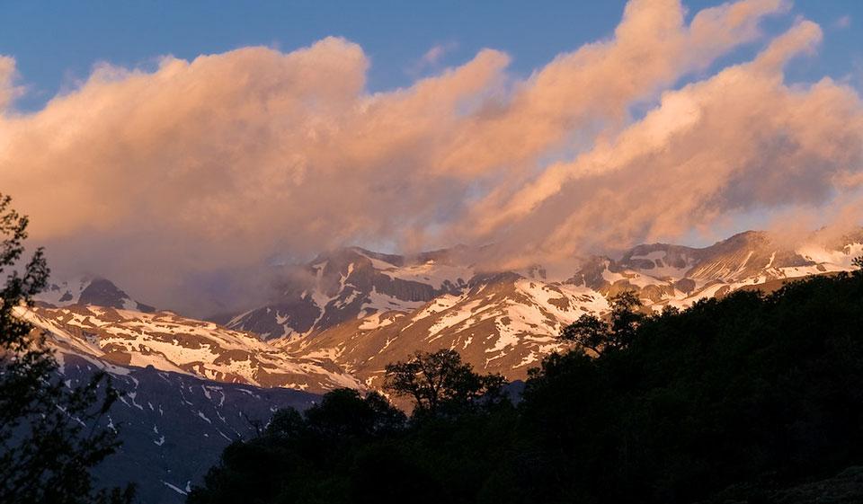 Clima del Santuario de la Naturaleza Alto Huemul